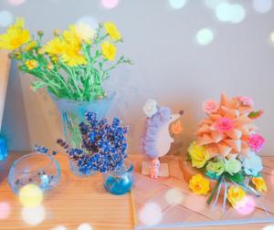 お花をいただきました🌼