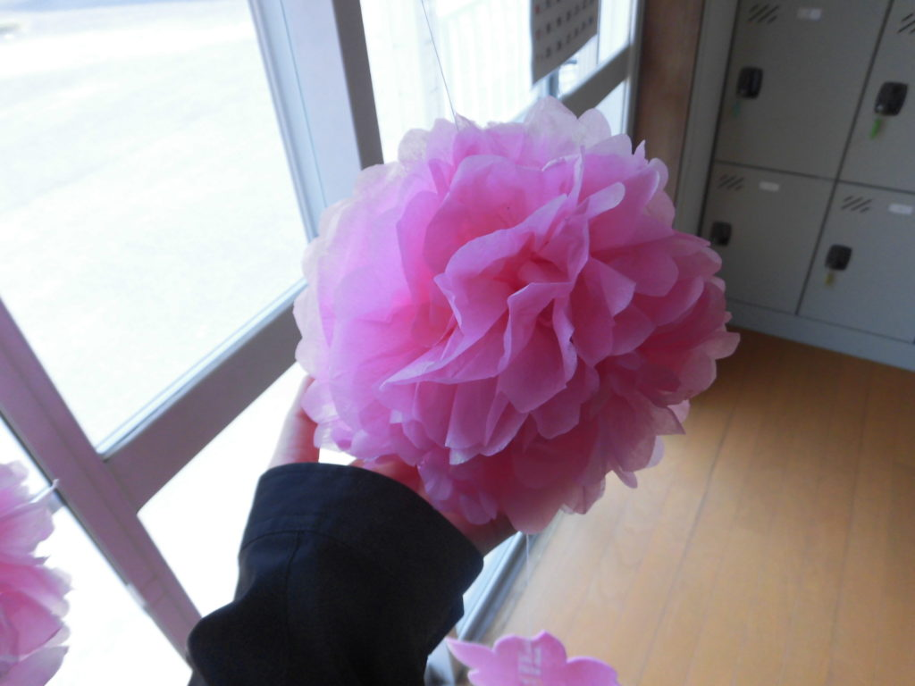 手作りのお花見🌸