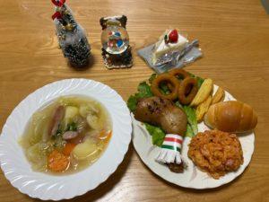 クリスマスお食事会を行いました✷